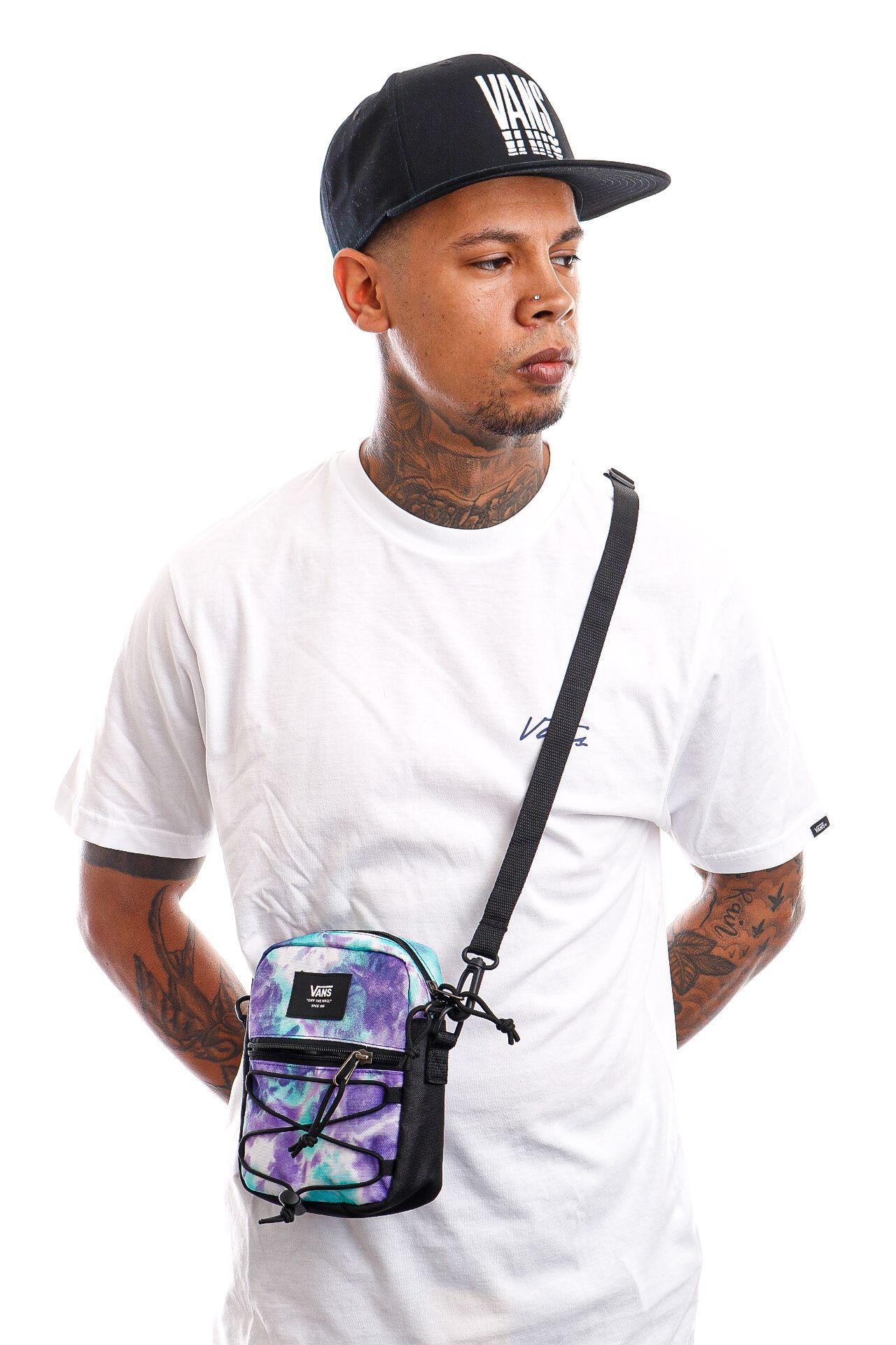 Afbeelding van Vans Schoudertas Bail Shoulder Bag English Lavender/Tie Dye VN0A3I5SZ6L1