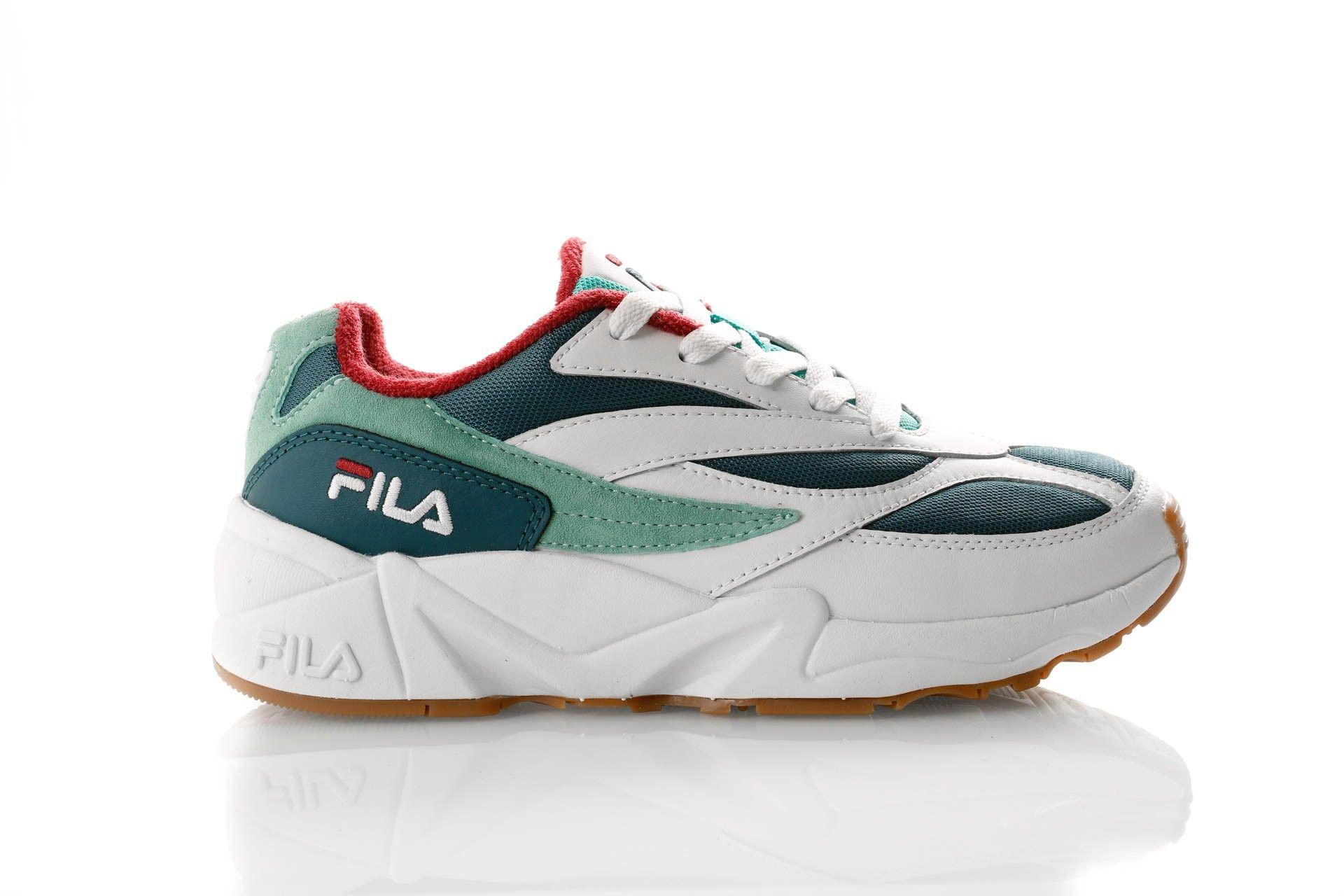 Afbeelding van Fila V94M Low Wmn 1010600 Sneakers Moroccan Blue / White / Beryl Green