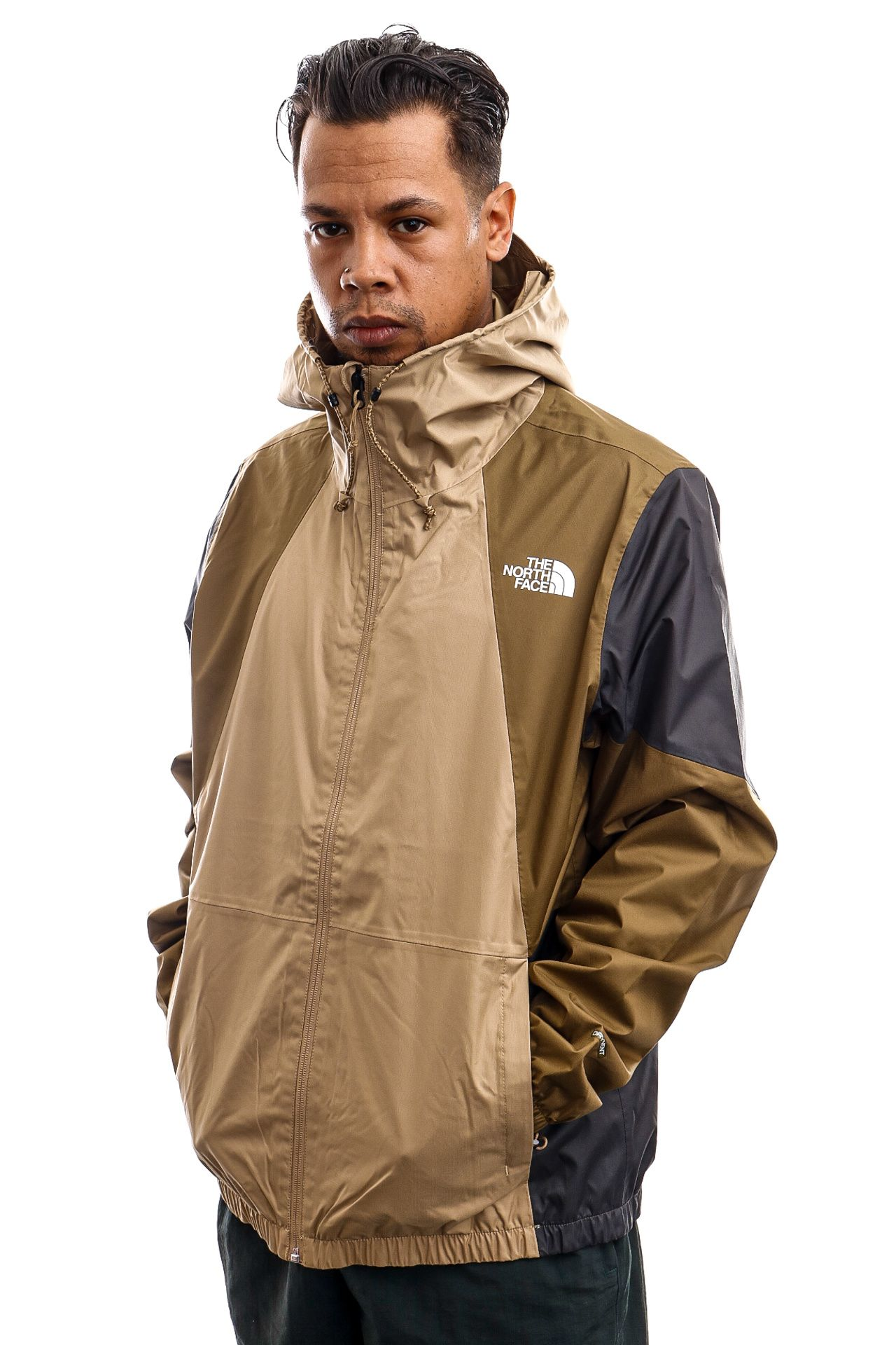 Afbeelding van The North Face Jas Mens Farside Jacket - Eu Kelp Tan NF0A493EPLX1