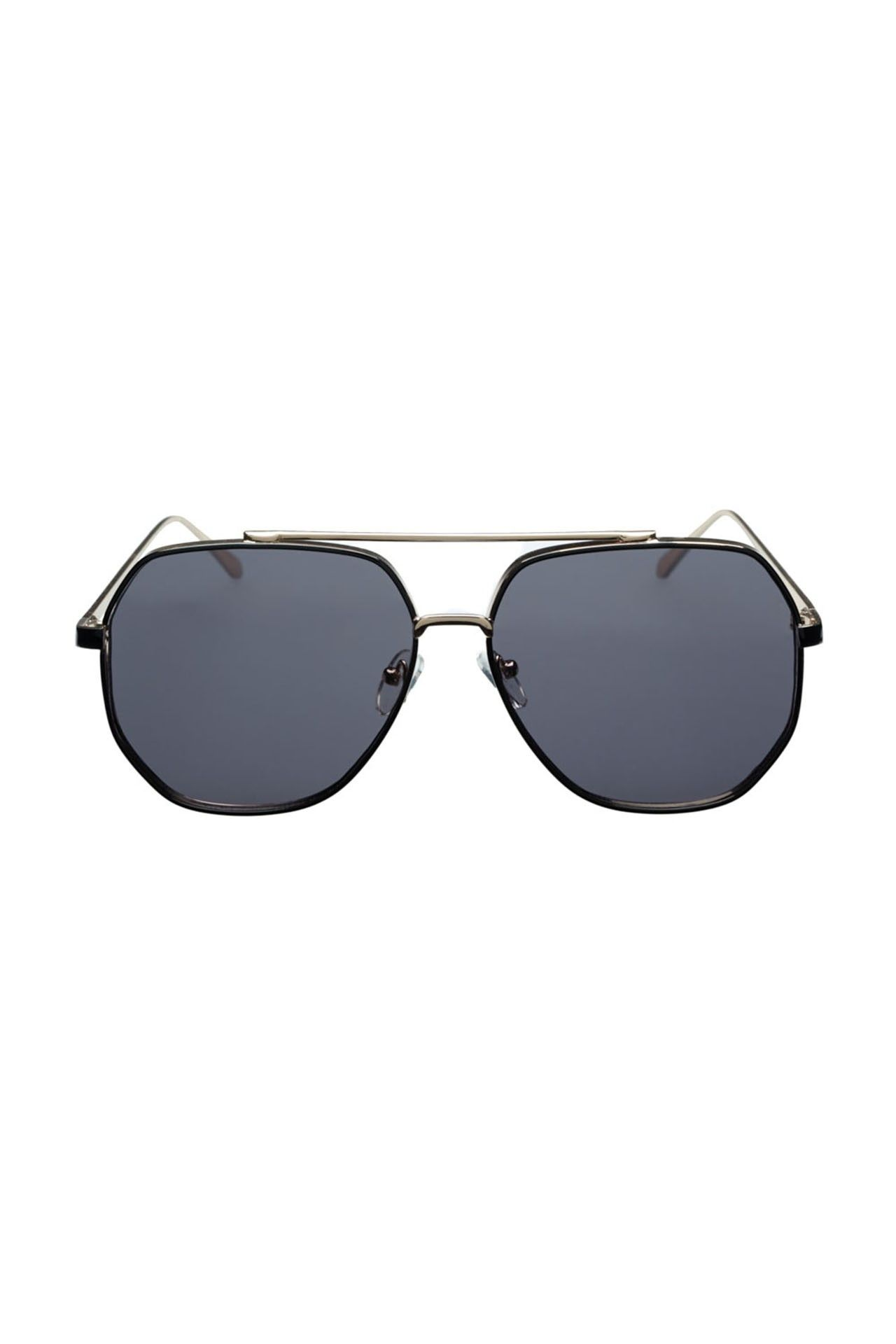 Afbeelding van Icon Eyewear Zonnebril M180726 Gold With Black A