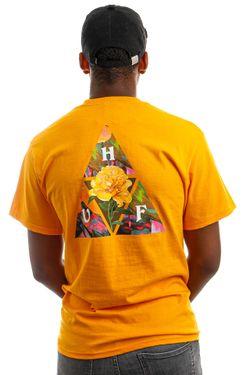 Afbeelding van HUF T-Shirt HUF NEW DAWN TT S/S Gold TS01516
