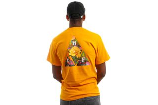 Foto van HUF T-Shirt HUF NEW DAWN TT S/S Gold TS01516