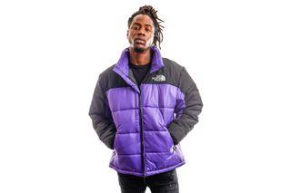 Foto van The North Face Jas M HMLYN INS JKT Peak Purple NF0A4QYZNL41