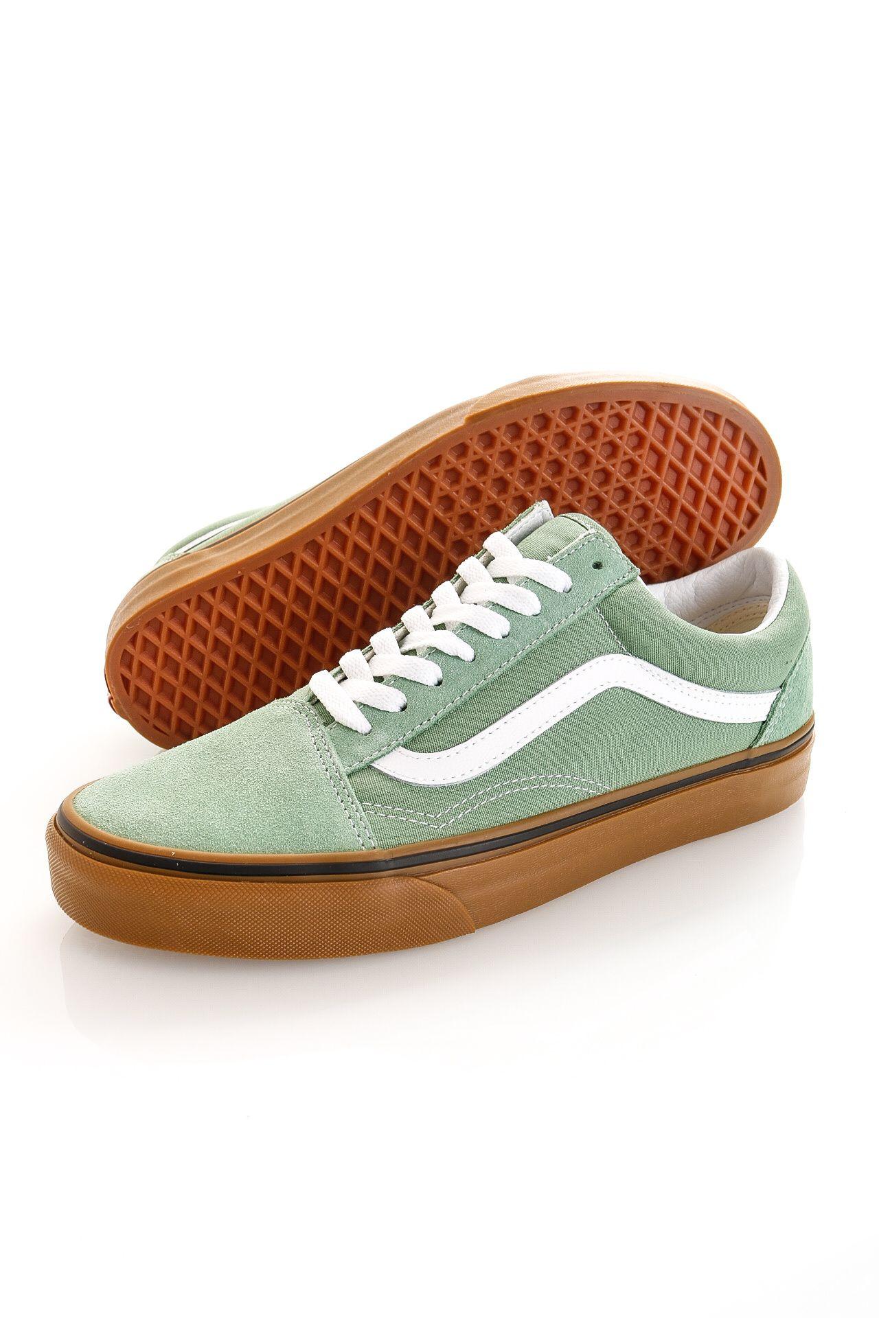 Afbeelding van Vans Sneakers UA Old Skool (GUM) Basil/True White VN0A38G19M01