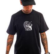 Carhartt T-shirt S/S Harp T-Shirt Black / White I029933