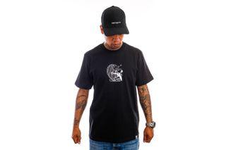 Foto van Carhartt T-shirt S/S Harp T-Shirt Black / White I029933