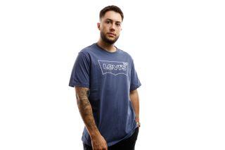 Foto van Levi's T shirt Housemark Graphic tee Dark Navy 22489-0310