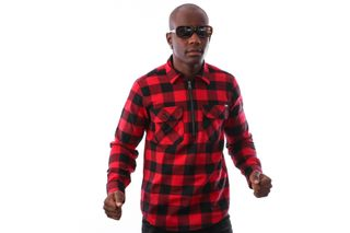 Foto van Carhartt Wip L/S Francis Shirt I025231 Shirt Francis Check, Blast Red