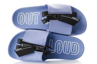 Foto van Adidas Adilette Zip W Out Loud Pack Ebd22 Sneakers Chalk Purple S18/Core Black/Ftwr White