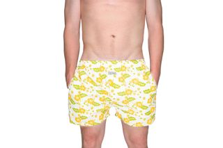 Foto van Pockies Boxershort Singles Cruise Off White - Olive - Orange