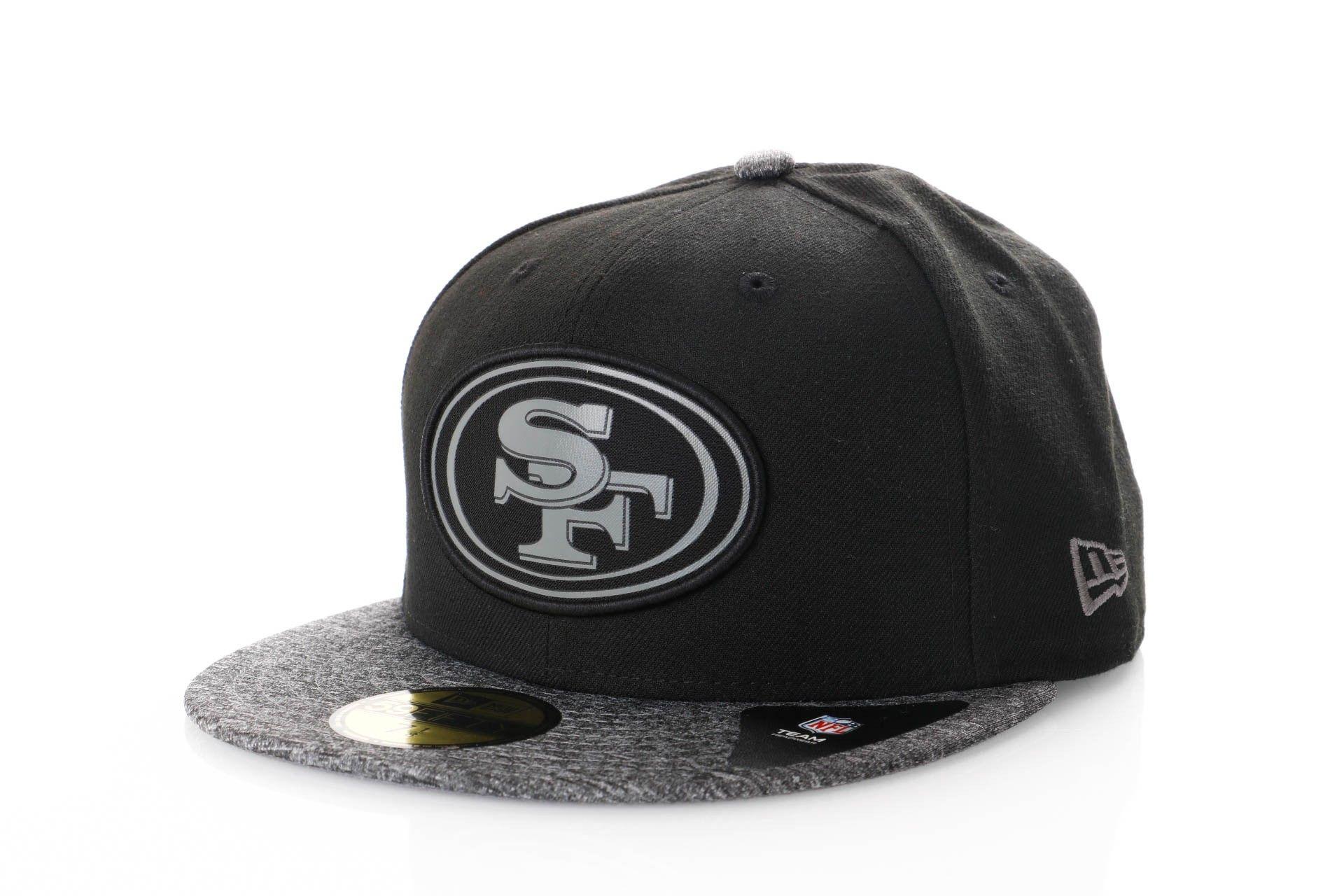 Afbeelding van New Era Fitted Cap San Francisco 49ers melange two tone