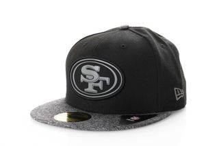 Foto van New Era Fitted Cap San Francisco 49ers melange two tone