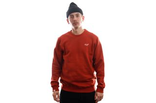 Foto van Reell Jeans Crewneck Regular Logo Crewneck Orange 1304-022