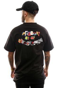 Afbeelding van HUF T-shirt Product S/S Tee Black TS01013-BLACK
