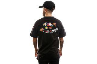 Foto van HUF T-shirt Product S/S Tee Black TS01013-BLACK