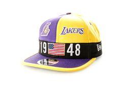 Afbeelding van New Era Snapback Cap Los Angeles Lakers Colour Block League 9Fifty 12040580