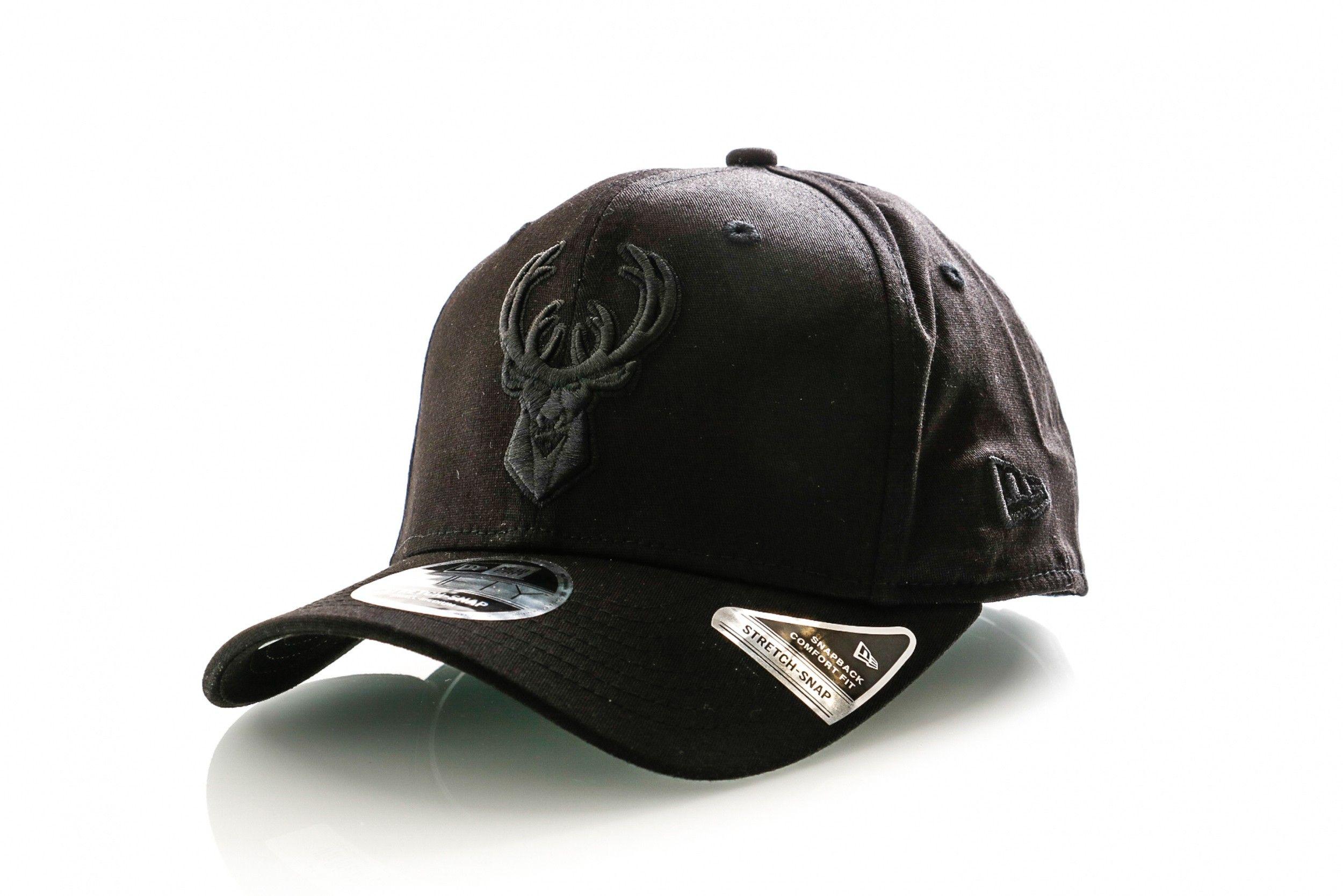 Afbeelding van New Era Snapback Cap Tonal Black 9Fifty Stretch Snap Blk 12285242