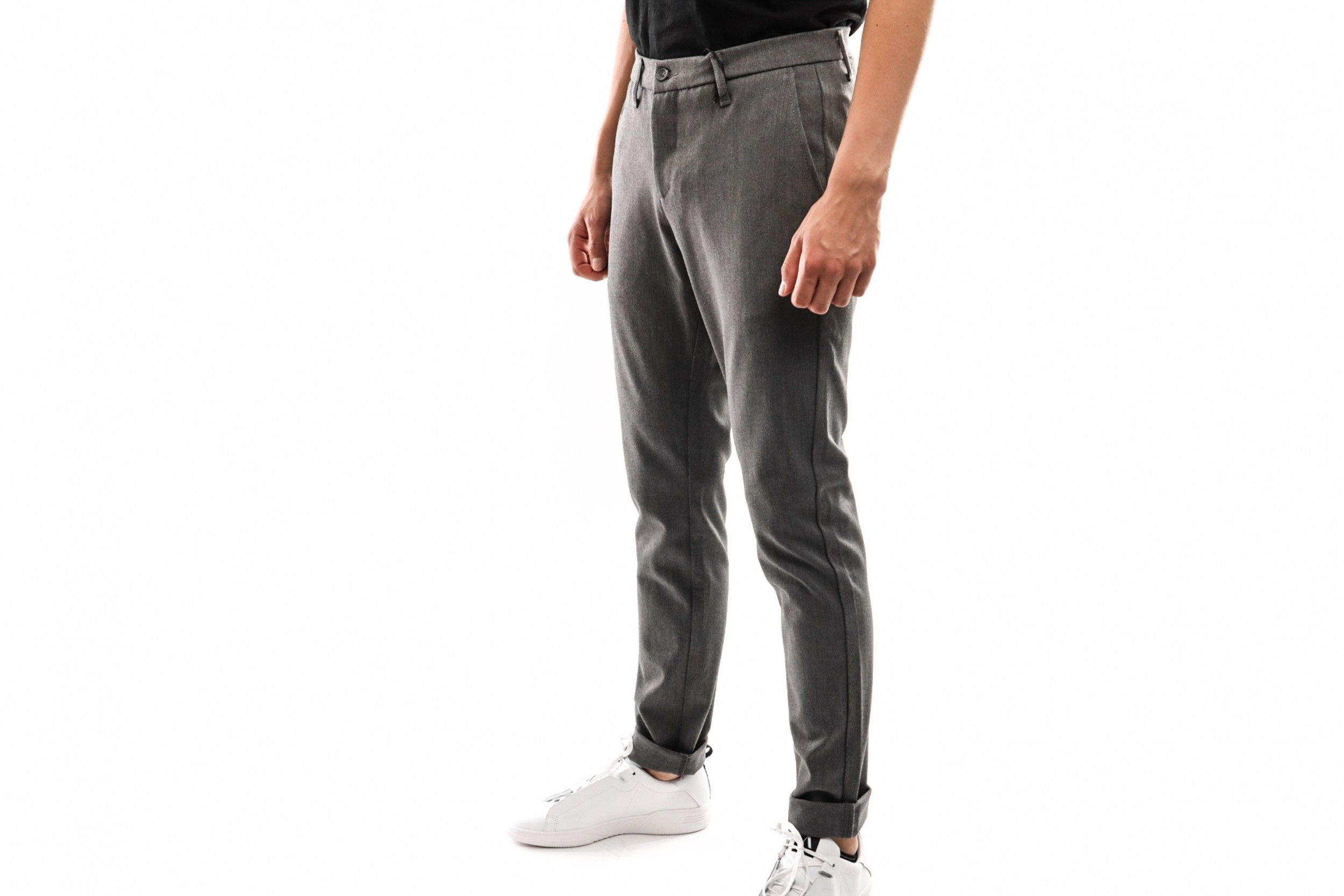Afbeelding van Wood Bird Steffen Twill 1816-201 Pant Light Grey