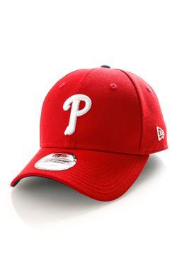 Afbeelding van New Era Dad Cap Mlb The League Mlb The League Philadelphia Phillies Official Team Colour 11997839