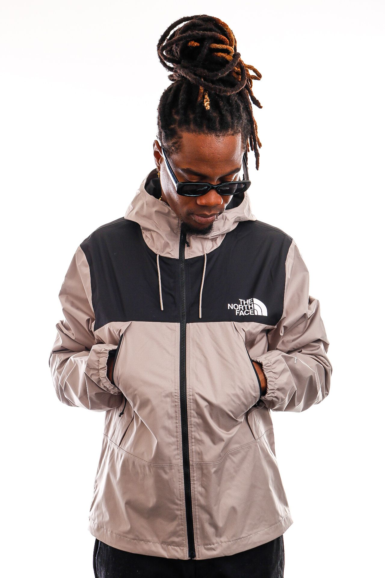 Afbeelding van The North Face Jas Mens 1990 Mountain Q Jacket Mineral Grey NF0A2S51VQ81