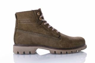 Foto van Caterpillar Basis Nubuck P722709 Sneakers Green