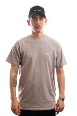 Afbeelding van Reell Jeans T-shirt Regular Logo T-Shirt Stone 1301-036