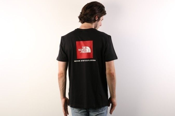 Afbeelding van The North Face T92Tx2-Jk3 T-Shirt Redbox Black
