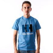 Helly Hansen 53165-689 T-Shirt Hh Logo Blauw