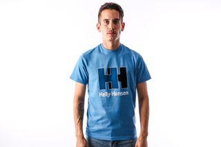 Foto van Helly Hansen 53165-689 T-Shirt Hh Logo Blauw