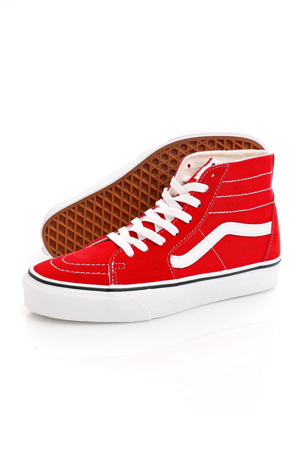Afbeelding van Vans Sneakers UA SK8-Hi Tapered Racing Red/True White VN0A4U16JV61