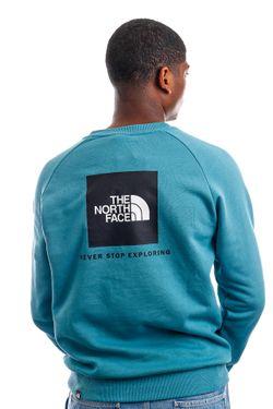 Afbeelding van The North Face Crewneck M RAGLAN REDBOX STORM BLUE NF0A4SZ94Y31