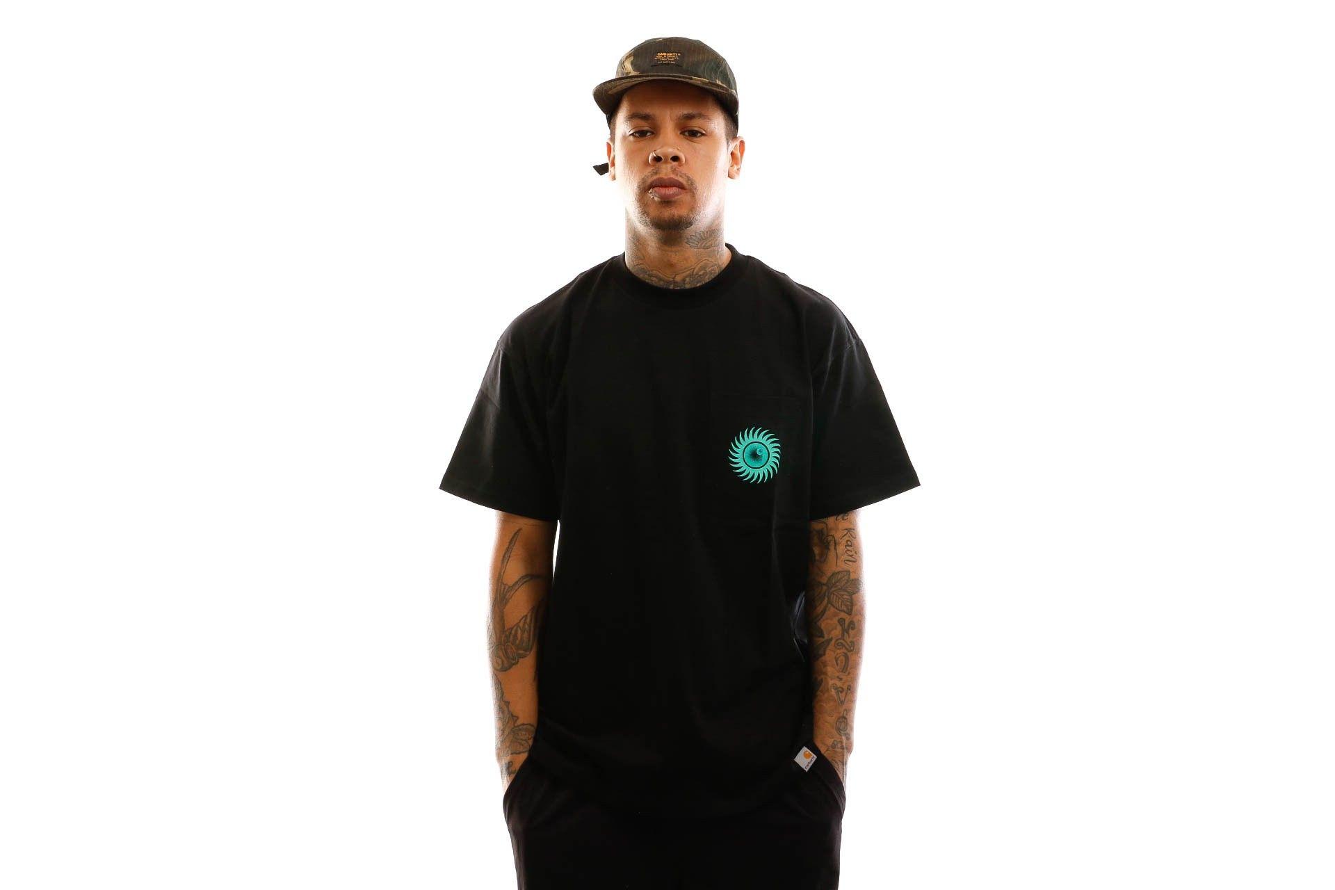 Afbeelding van Carhartt T-shirt S/S Note Pocket T-Shirt Black I027754