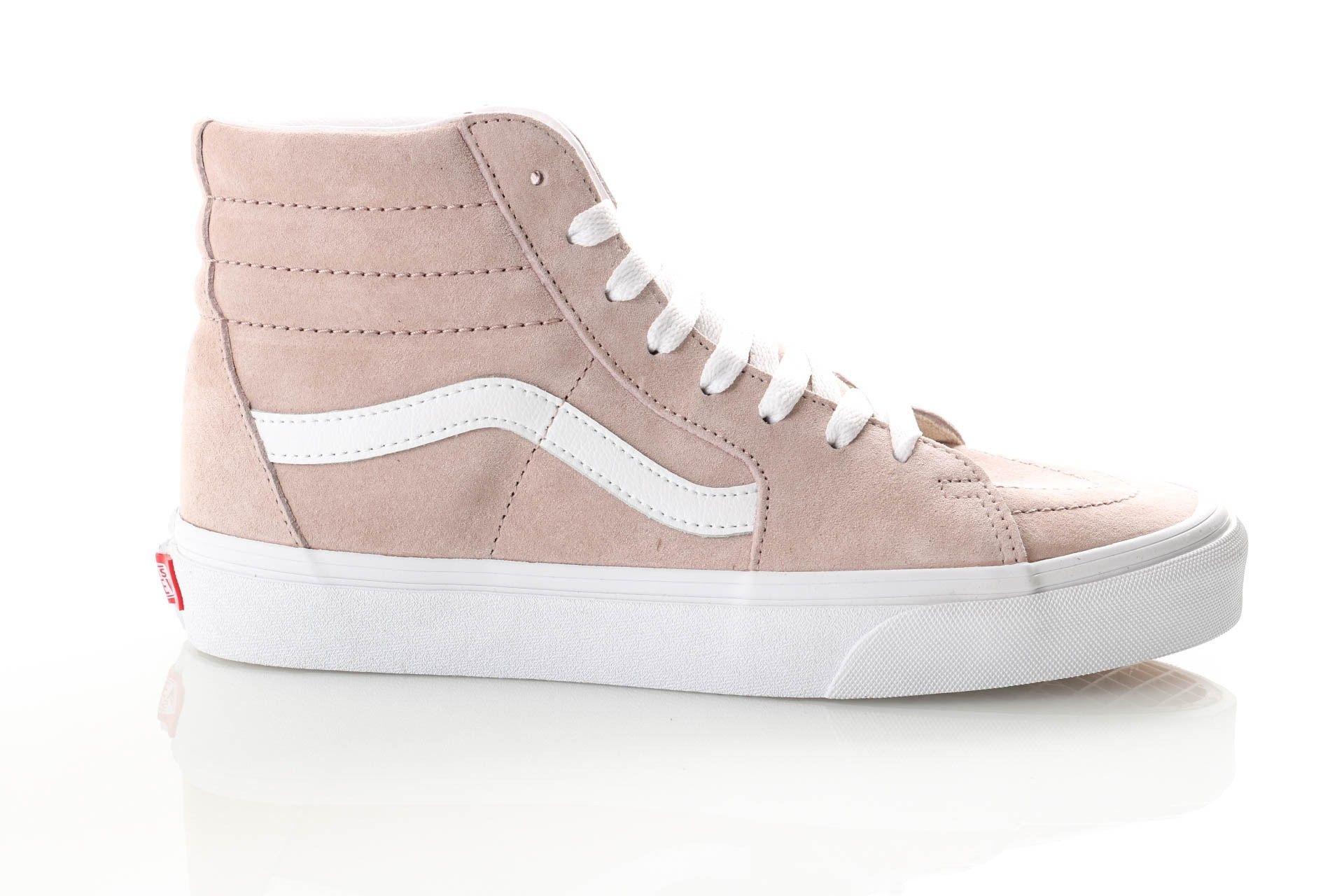 Afbeelding van Vans Ua Sk8-Hi Vn0A4Bv6V791 Sneakers (Pig Suede) Shadow Gray/True White