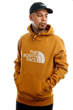 Afbeelding van The North Face Hooded Men's Drew Peak Pullover Hoodie - Eu Timbrtan/Vntgw NF00AHJYSG21