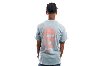 Foto van Vans T-Shirt Market Print Cameo Blue VN0A5E7DSQE1
