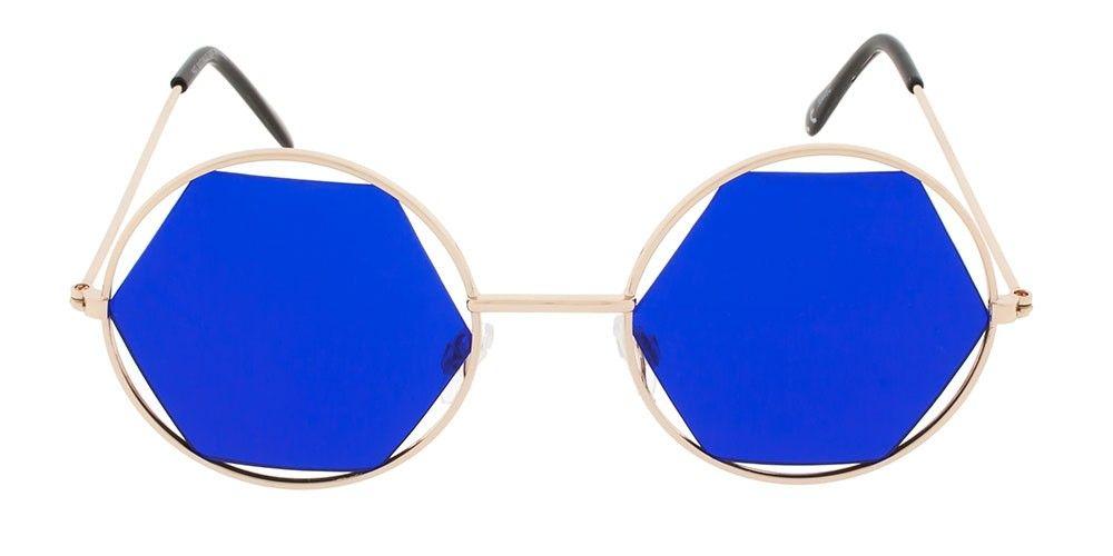 Afbeelding van Icon Eyewear 30446 C Zonnebril Pale Gold