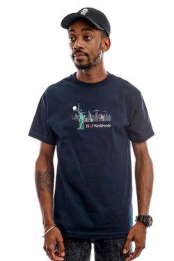 Afbeelding van HUF T-Shirt Gift Shop S/S Tee Navy Blazer TS00999