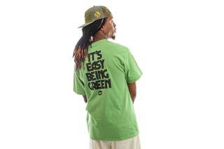 Foto van HUF T-shirt Easy Green S/S Tee Dill Green TS01605