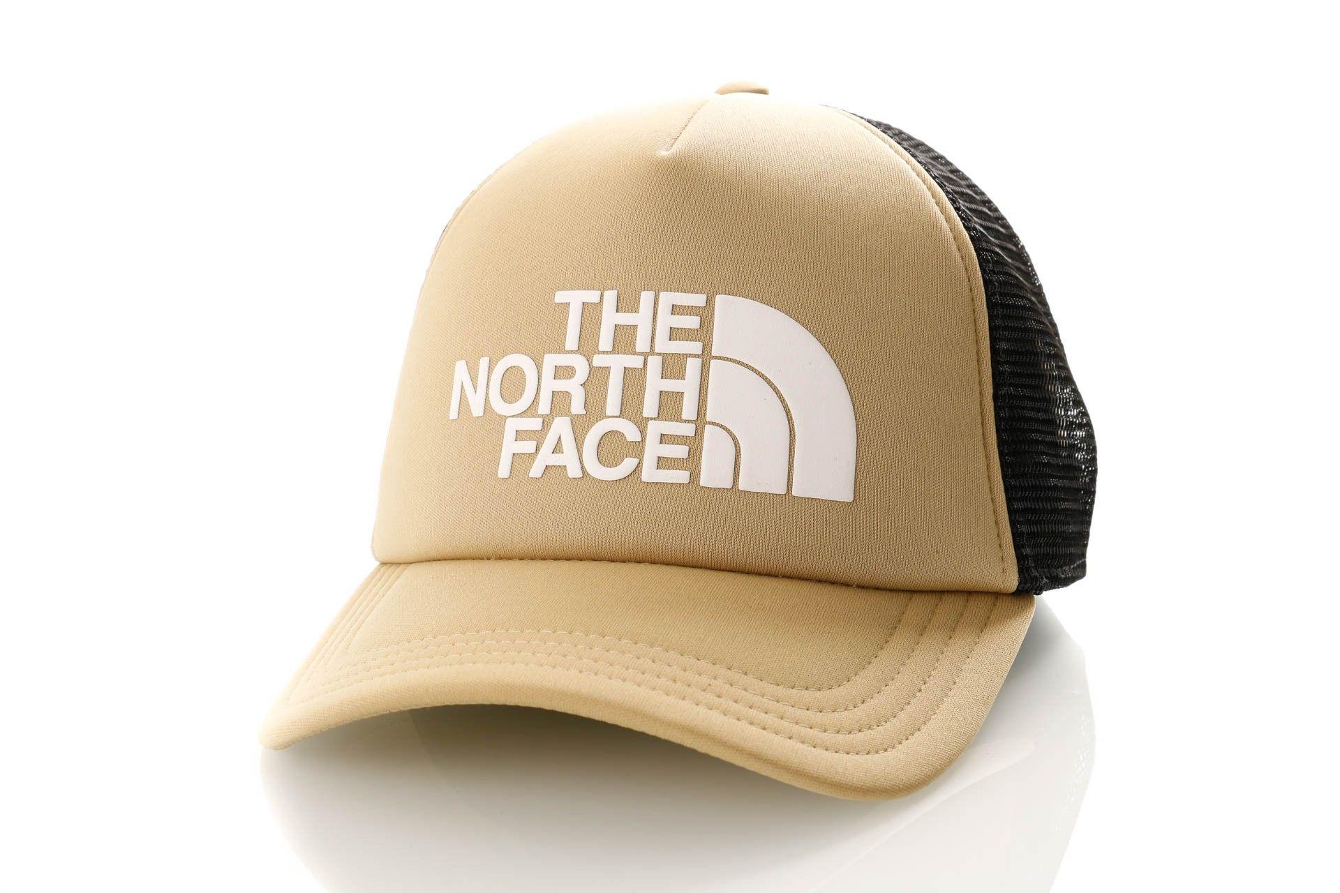 Afbeelding van The North Face Tnf Logo Trucker T93Fm3Ej7 Trucker Cap Twill Beige/Tnf White