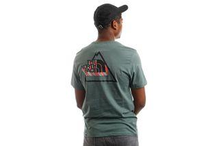 Foto van The North Face NF0A5ID6HBS1 T-Shirt Mens Threeyama S/S Balsam Green