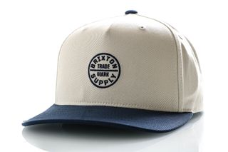 Foto van Brixton Snapback Oath 110 Mp Snbk Dove/Washed Navy 10453