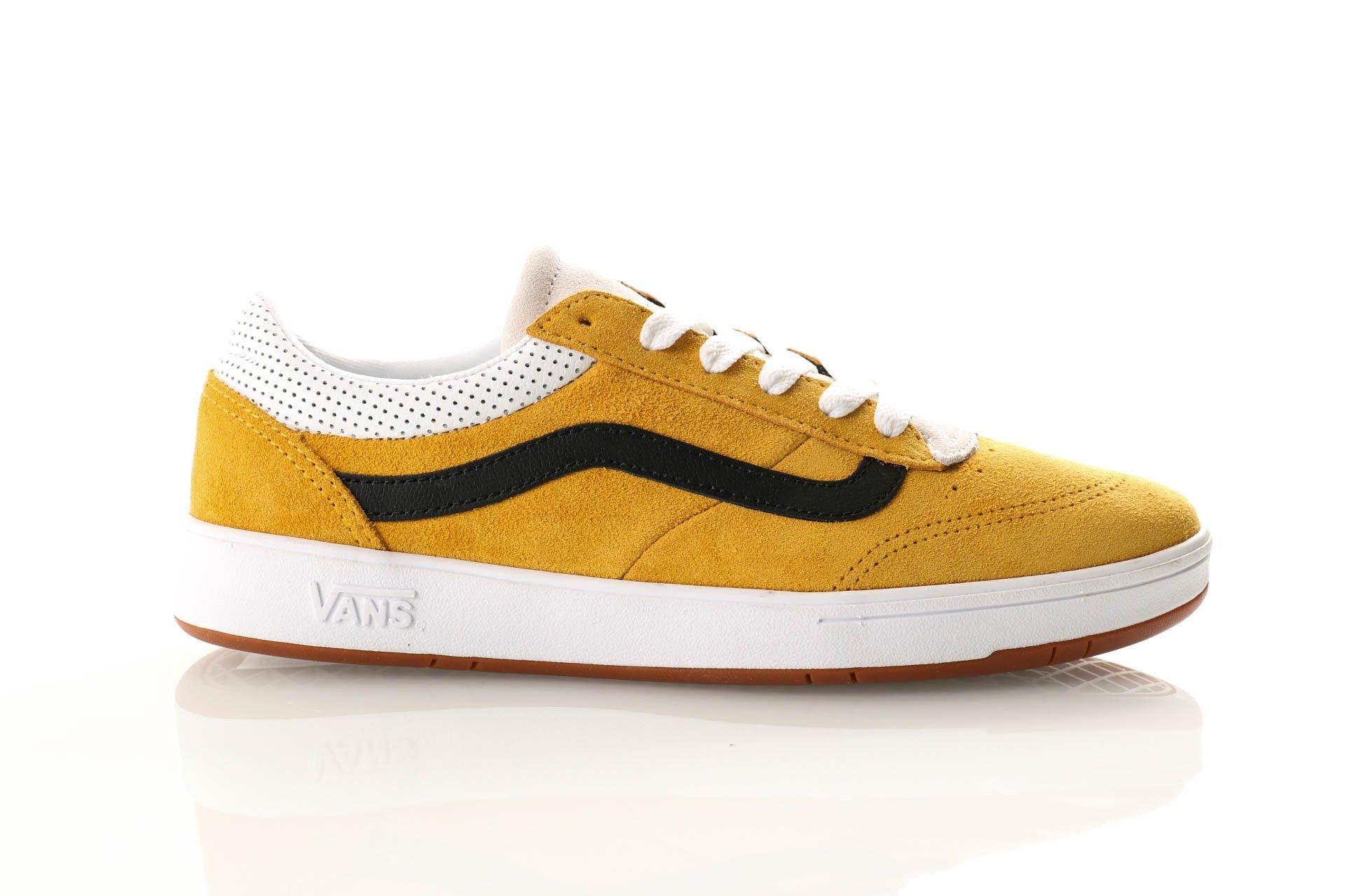Afbeelding van Vans Ua Cruze Cc Vn0A3Wlzvxc1 Sneakers (Vintage Suede) Mango Mojito/Black