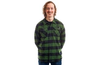 Foto van Dickies Overhemd Sacramento Shirt Pine Green DK0A4X8NPG01