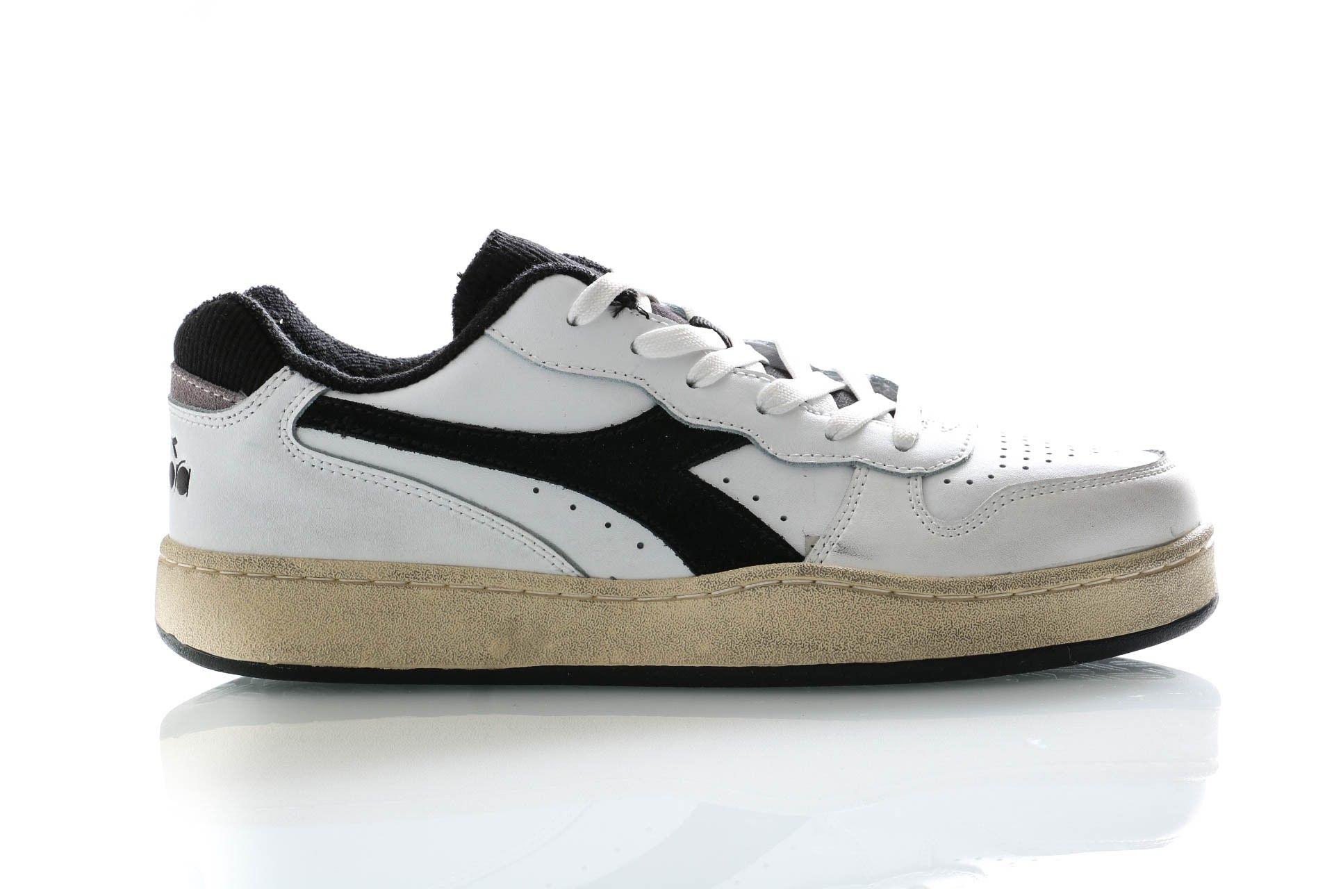 Afbeelding van Diadora Sneakers Mi Basket Low Used Optical White/Black 501175757
