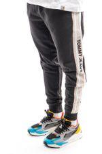 Tommy Jeans Sweatpant TJM RIB INSERT SWEAT Black / Smooth Stone DM0DM11471