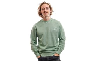 Foto van Carhartt Crewneck Sedona Sweat Frosted Green I027814