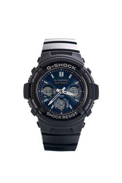 Afbeelding van Casio Horloge G-SHOCK Basic AWG-M100SB Black/Blue