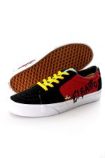 Vans x The Simpsons Sneakers UA SK8-Low (THE SIMPSONS), 9, Medium Deep Red/True W VN0A4V45ZZY