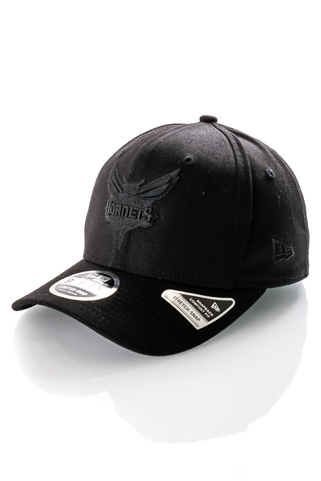 Afbeelding van New Era Snapback Cap Tonal Black 9Fifty Stretch Snap Blk 12285246