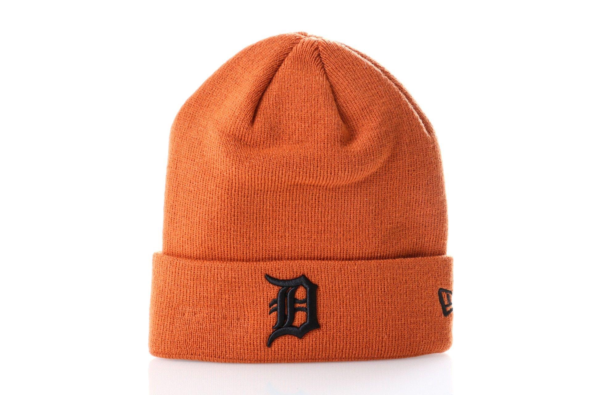 Afbeelding van New Era Muts Detroit Tigers League Essential Cuff Knit 12040427